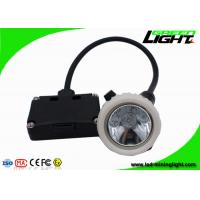 China 5.2Ah Black Safety Underground Mining Cap Lights Rechargeable Explosion Proof wholesale