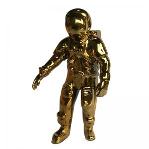 China Spaceman Rapid Prototype Electroplating Service On Plastic wholesale