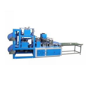 China Automatic Medical Disposable SMS/PP Nonwoven Boot Shoe Cover Making Machine wholesale