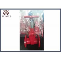 China Dust - Proof Fire Protection Gate Valves , Red Color Os&Y Gate Valve DN50 wholesale