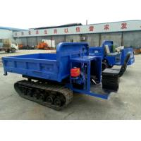 China Mini Track Transporter / Mountain Vehicles Crawler Transporter With Rubber Track on sale