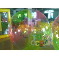 China Huge Colorful Children Inflatable Walking Ball Waterproof For Extrior wholesale