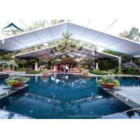 China 15m * 40m Spacious Outdoor Party Tents With White Water Proof PVC Tent Fabric wholesale
