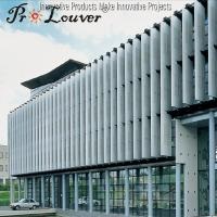 China Sun shading operable Aerowing louver,Factory price Aerowing sun louve blades on sale