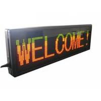 China IP31 car indoor moving seven segment led display sign programmable wholesale