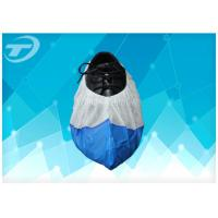 China Food Processing Disposable Anti Skid Shoe Covers PP+CPE Coated Non Woven wholesale