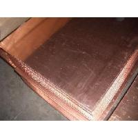 China Smooth Surface No Layered Peeling Copper Plate wholesale