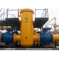 China UNITE standard natural gas filter Vertical or horizontal for gas-solid separation on sale