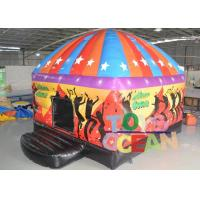 China Full Digital Printing Inflatable Bounce House Inflatable Disco Dome Music Dance Bouncer wholesale