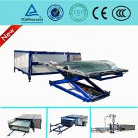 China EVA Curved Laminated Glass Machine , Industrial Laminating Machine Autoclave Free wholesale