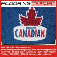 China Custom Entrance Logo Mats Entry Logo Mat Color Printed Sweep Dirt Anti-slip Remove Moisture wholesale