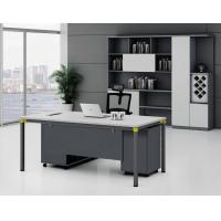 Buy cheap Hot Sales Melamine panel wooden Office Furniture Desk OEM Excutive Desk  MFC computer desk from wholesalers