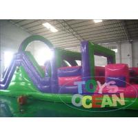 China Kids Inflatable Backyard Obstacle Course For Rent Waterproof Portable wholesale