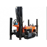 China 24 Months Warranty 55kw 180m Crawler Drilling Rig 2.5km/H wholesale