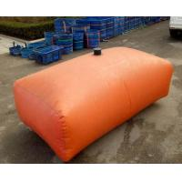 China 1000L Fire Fighting Tarpaulin Water Tank For Agricultural Irrigation 1.2MM Thickness wholesale