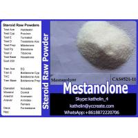 Quality Health And Fitness Steroid Raw Powder Mestanolone / Methylandrostanolone CAS No for sale