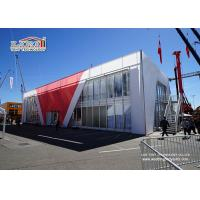China Trade Show Exhibition Two Floor Tent Cube Structure With Thermo PVC Roof Cover wholesale