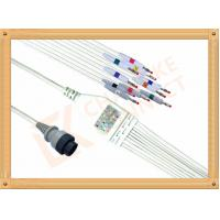 Wholesale Fukuda MSC 8111 10 Lead Ecg Lead Wires Banana AHA Non - Toxic from china suppliers