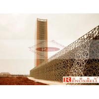 China Commercial Wooden - Like Perforated Aluminum Panels Fireproofing wholesale