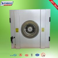 China Clean Room HVAC System FFU Fan Filter Units Galvanized Frame Hepa wholesale