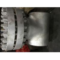 China 24 Inch TP304L Flanged Y Type Strainer , 300 LBS Basket Type Strainer BW ENDS wholesale