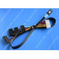 China Serial Attached SCSI SAS SFF 8087 TO SFF 8482 Cable 28AWG Multi – Port Length 65cm wholesale