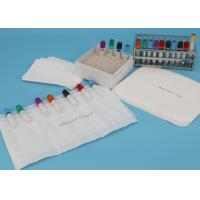 China Customized size Absorbent Pouches And Sheets For Transporting 7-Tube Lab Specimens wholesale
