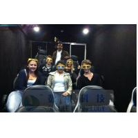 China Mobile 6D Movie Theater Simulator With Audio / Broadcast System And Polarized Glasses wholesale