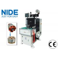 China Single side stator coil lacer machine / stator winding lacing equipment wholesale
