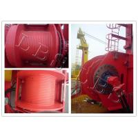 China Single Drum Electric Winch Machine 45kn 50kn Rated Load For Hoist And Marine wholesale