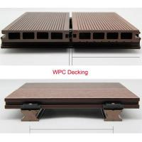 China Sunshien WPC hollow decking waterproof and anti-UV flooring cover best quality wholesale