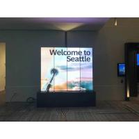 China IP40 P2.5 SMD2121 Indoor LED Poster Video Display Screen With Wheels / Pedestal wholesale