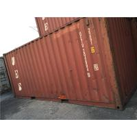 China 20 Feet Open Side Used Steel Storage Containers For Road Transport wholesale