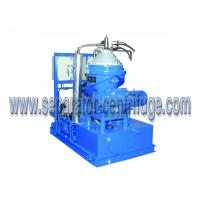 China CCS Heavy Fuel Detergence Disc Centrifugal Oil Separator 1500 LPH wholesale
