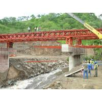 China  Bailey Steel Timber Deck Bridges High Stiffness With Heavy loading   for sale