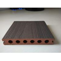 Coffee capped wpc hollow composite decking outdoor deck for Hollow to floor meaning