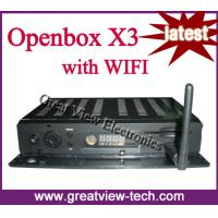 Quality Openbox X3 full hd with wifi for worldwide market for sale