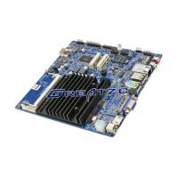China Dual Core CPU J1800 Fanless Motherboard / POS Motherboard With VGA HDMI LVDS wholesale