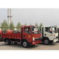 Buy cheap White SINOTRUK Light Duty Trucks  Transporting Vegetables Fruits from wholesalers