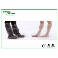 China Plastic Disposable Shoe Cover Outdoor / Waterproof Rain Boot Cover For Hospital wholesale