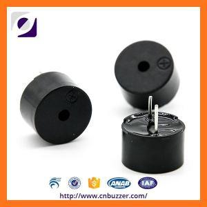 Electro Magnetic Buzzer 5V 2700HZ , Black PPO Transducer For Alarm