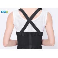 China Pain Relief Lower Back Belt , Lumbar Spine Support Brace OEM Service Provided wholesale