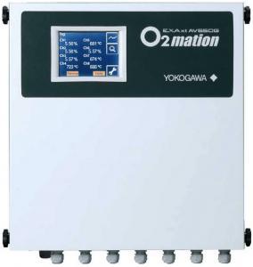 China Yokogawa Multi Channel Oxygen Analyzer System ZR22/AV550G Model AV550G Zirconia Oxygen Analyzer wholesale