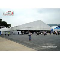 China 50 M X 60M Outdoor Exhibition Tents With 6m Side Height For Show  Fair wholesale
