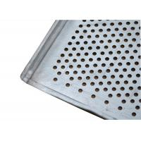 China Flat And Perforated Aluminium Baking Tray With Raised Edges 20mm Tray Height wholesale