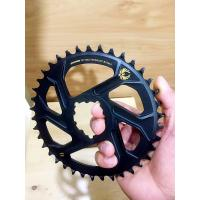 China Aluminum CNC Machining Parts 32T 34T 36T 38T Bike Single Chainring for 9 10 11 Speed wholesale