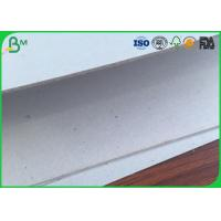 China Hard Stiffness Grey Board Paper Thickness 1.5mm 700 * 1000mm For Desk Calendar wholesale
