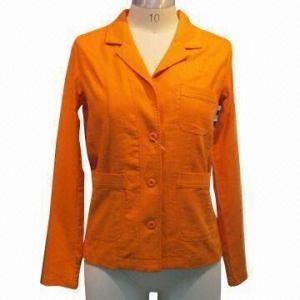 China Men's Casual Coat, Made of Linen Viscose wholesale