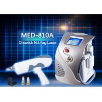 China Q Switched ND YAG Laser Tattoo Removal Machine for Eliminate Coffee Spot / Taitian naevus on sale