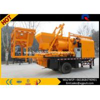 Quality 37Kw Automatic Mobile Concrete Batching Hopper Capacity 1.8m3 for sale